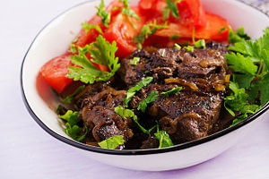 beef liver as African fertility food