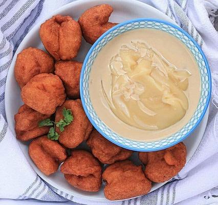 Akara balls made from black-eyed peas (cowpeas), helath benefits