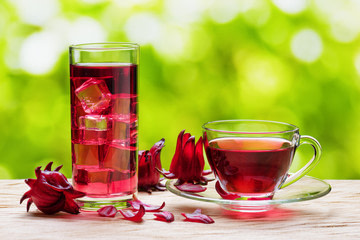 Hibiscus tea to stay healthy and fit