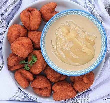 Black-eyed peas health benefits: Akara balls with pearl millet cereal